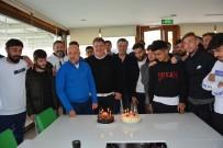 LEVENT DEVRIM - Başkan Ergün'e Sürpriz Doğum Günü Kutlaması