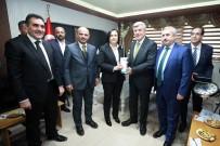 İBRAHIM KARAOSMANOĞLU - Başkan Karaosmanoğlu, STK Ziyaretinde Bulundu