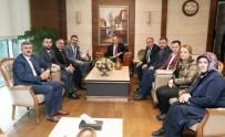 GENİŞLETİLMİŞ İL BAŞKANLARI TOPLANTISI - Başkanlar Bakan Özlü İle Görüştü