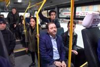 GÜN DOĞMADAN - Belediye Başkanı Minibüsle Makamına Gitti