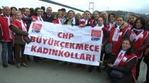 FATIH SULTAN MEHMET KÖPRÜSÜ - CHP'den 'Çocuk İstismarına Hayır' Eylemi