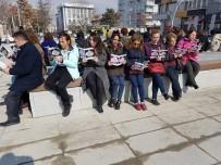 KALENDER - CHP'li Kadınlardan Çocuk İstismarını Protesto Etti