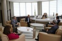 MEDYA DERNEĞİ - Diyarbakır Yerel Medya Derneği'nden Başkan Akat'a Ziyaret