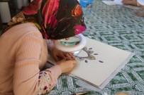 TEZHİP SANATI - Efeler Halkı Tezhip Sanatı Kursunu Çok Sevdi