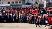 Erzurum'da Zeytin Dalı Harekatı'na Destek Yürüyüşü