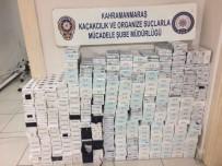 SİGARAYLA MÜCADELE - Kahramanmaraş'ta Kaçak Sigara Operasyonu