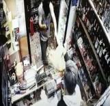 KıZıLPıNAR - Kar Maskeli Silahlı Gaspçı Önce Kameraya Sonra Polise Yakalandı