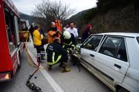 Kazada Can Pazarı Açıklaması 2 Yaralı