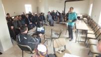 EĞİTİM TOPLANTISI - Malazgirt Köylerinde Hayvan Ölümlerine Karşı Bilgilendirme Toplantıları Yapıldı