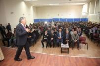 OKUL BİNASI - Merkez Mesleki Ve Teknik Anadolu Lisesi'nin Konuğu Başkan Büyükkılıç Oldu