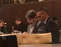 PRAG - PYD'nin eşbaşkanı Salih Müslim Prag Marriot Hotel'de ortaya çıktı