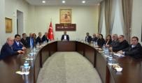 KİLİS VALİSİ - TEB Genel Başkanı Çolak Vali Tekinarslan İle Bir Araya Geldi