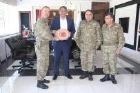 PİYADE ALBAY - Tuğgeneral Köseali'den Belediye Başkanı Ayhan'a Teşekkür Plaketi