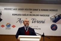 ANTALYA HAVALİMANI - 'Türkiye Avrupa'nın Sigortasıdır'