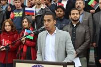 SAVAŞ KARŞITI - Yabancı Uyruklu Öğrencilerden 'Zeytin Dalı Harekatı'na Destek Açıklaması