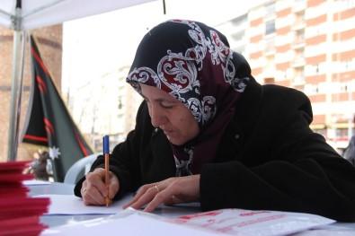 Yaşlı teyzeden Mehmetçiğe duygulandıran mektup
