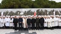 TURAN YıLMAZ - Afrin'deki Mehmetçikler İçin Şehitler Abidesi'nde Dua