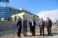 KADIR PERÇI - Birecik Yeni Devlet Hastanesinin Yol Sorunu Çözülüyor