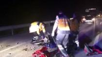 TEMİZLİK İŞÇİSİ - Edirne'de Devrilen Motosikletin Sürücüsü Öldü