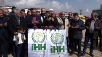 CİLVEGÖZÜ SINIR KAPISI - Elazığ'dan Suriye'ye 17 Tır Un Yardımı