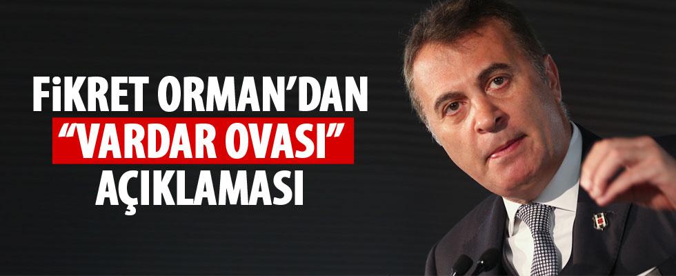Fikret Orman'dan 'Vardar Ovası şarkısı açıklaması