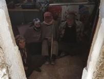 BOMBA DÜZENEĞİ - Teröristler ihtiyar köylüleri bağlayıp mayınla tuzakladı