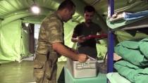 CİLVEGÖZÜ SINIR KAPISI - TSK'den Sınıra Seyyar İlk Yardım Hastanesi