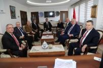 MEHMED ALI SARAOĞLU - Yargıtay Başkanı Cirit İle Yargıtay Cumhuriyet Başsavcısı Akarca Vali Nayir'i Ziyaret Etti