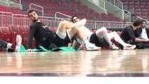 LETONYA - A Milli Basketbol Takımı'nda Letonya Maçı Hazırlıkları
