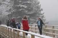 ABANT - Abant Kar Yağışıyla Yeniden Beyaza Büründü