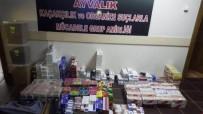 ELEKTRONİK SİGARA - Balıkesir'de Kaçak Sigara Operasyonu