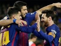 LİONEL MESSİ - Barcelona 32 maçtır yenilmiyor