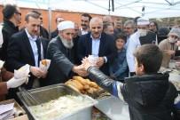 EDREMIT BELEDIYESI - Edremit'te '3. Geleneksel Ayran Aşı Balık Başı' Festivali