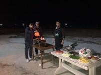 ÇAKAL - Görev Başındaki Polislere Mangallı Moral