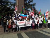 KARABAĞ - Hocalı Katliamı 26. Yılında Tiflis'te Protesto Edildi