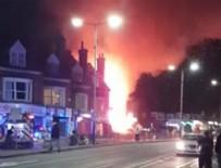 LEİCESTER - İngiltere'de bir binada patlama