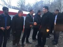 MEHMET ÖZCAN - Kaymakam Özcan'ın Taziye Ziyareti