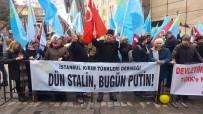 SIYAH ÇELENK - Kırım Tatar Türklerinden Rusya'ya Protesto