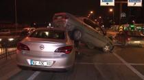 ALEYNA - Konya'da Zincirleme Trafik Kazası Açıklaması 2 Yaralı