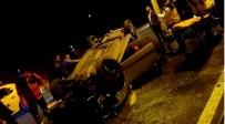 OKUL SERVİSİ - Beykoz'da Otomobil Takla Attı Açıklaması 2 Yaralı