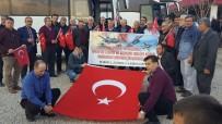 ÜSKÜP - Üsküp'ten Yola Çıkan Yardım Ekibi Suriye Sınırına Ulaştı