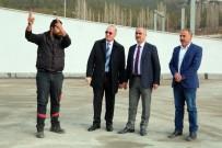 OTOPARK SORUNU - Araç Kiralama Firmalarının Toplanma Merkezi Tamamlandı
