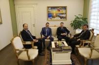 ORHAN TAVLı - Avustralya'nın Ankara Büyükelçisi Brown'dan Vali Tavlı'ya Ziyaret