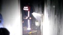 DİYALİZ HASTASI - Elazığ'da Yangın