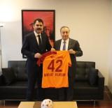 GALATASARAY BAŞKANı - Emlak Konut'tan Galatasaray'a Ziyaret