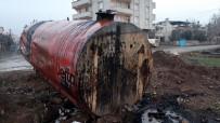 HAYVAN SEVERLER - Gaziantep'te Yavru Köpek Ful-Oil Dolu Yakıt Tankına Atıldı