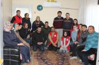 SÜLEYMAN BAYRAM - Gençlerden Afrin Gazisine Moral Ziyareti