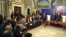 TUNUS BAŞBAKANI - İspanya Başbakanı Rajoy, Tunus'ta