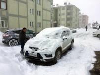 MURAT KAYA - Karlıova'da Bahar Havası, Yerini Kara Bıraktı