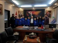 Lapseki Judo Takımı Sporcularından Lapseki Belediyesine Ziyaret